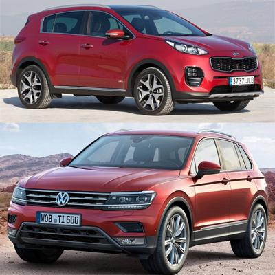 Midsized_SUV-segment-European-sales-2015-Volkswagen_Tiguan-Kia_Sportage