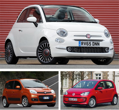 Minicar-segment-European-sales-2015-Fiat_500-Fiat_Panda-Volkswagen_Up