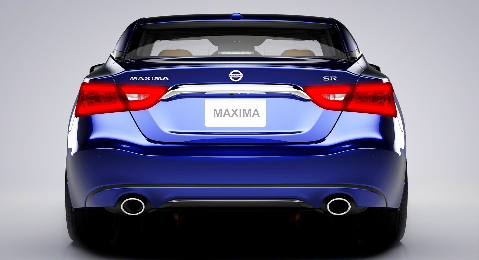 Nissan Maxima rear