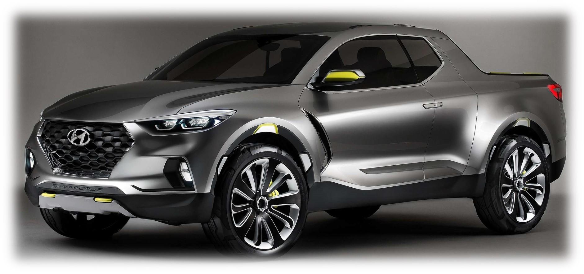 Hyundai Santa Cruz Crossover Truck Concept