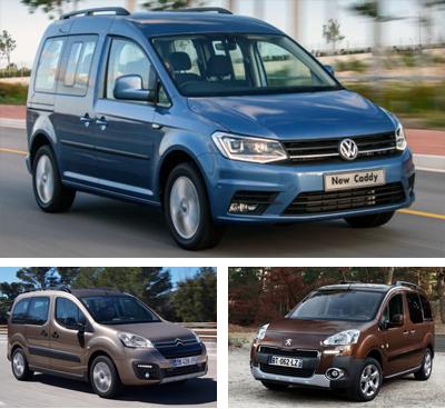 Passenger-van-segment-European-sales-2016_Q2-Volkswagen_Caddy-Citroen_Berlingo-Peugeot_Partner