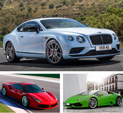 Exotic_car-segment-European-sales-2016_Q2-Bentley_Continental_GT-Ferrari_488-Lamborghini_Huracan