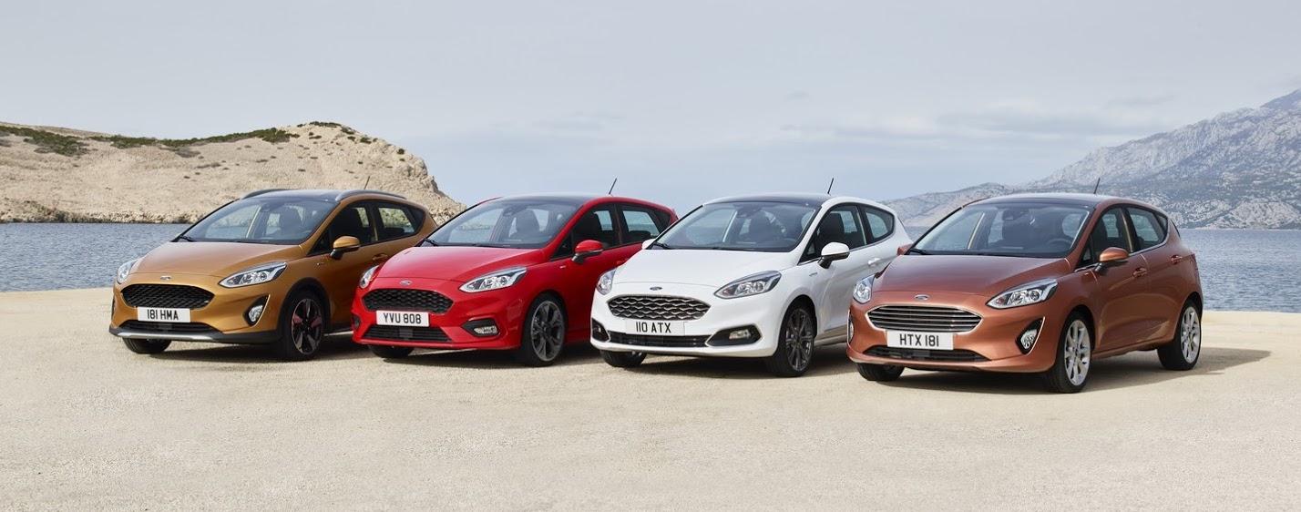 Ford Fiesta range