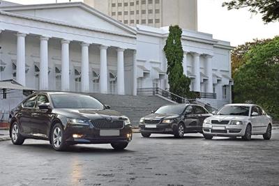European_car_sales-october_2016-Skoda_Superb-three-generations
