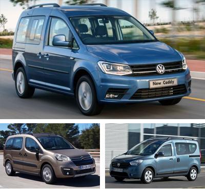 Passenger-van-segment-European-sales-2016_Q3-Volkswagen_Caddy_Life-Citroen_Berlingo_Multispace-Dacia_Dokker
