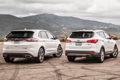 2016-large-SUV-segment-Ford_Edge-Hyundai_Santa_Fe