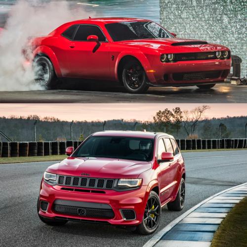 2017-New_York-Auto_Show-Challenger_Demon-Grand_Cherokee_Trackhawk