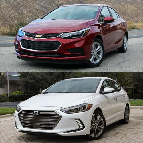 US-sales-March-2017-compact-cars-Chevrolet_Cruze-Hyundai_Elantra
