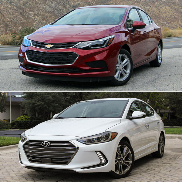 US-sales-March-2017-compact-cars-Chevrolet_Cruze-Hyundai_Elantra