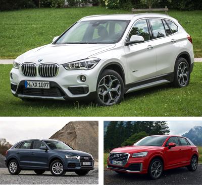 Compact_Premium_Crossover-segment-European-sales-2017_Q1-BMW_X1-Audi_Q3-Audi_Q2