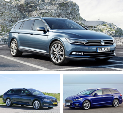 Midsized_car-segment-European-sales-2017_Q1-Volkswagen_Passat-Skoda_Superb-Ford_Mondeo