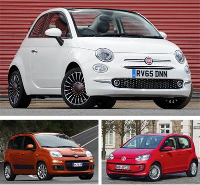 Minicar-segment-European-sales-Q3-2017-Fiat_500-Fiat_Panda-Volkswagen_Up