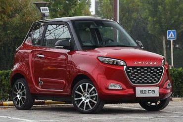 Zhidou-D3-EV-China-auto-sales-statistics