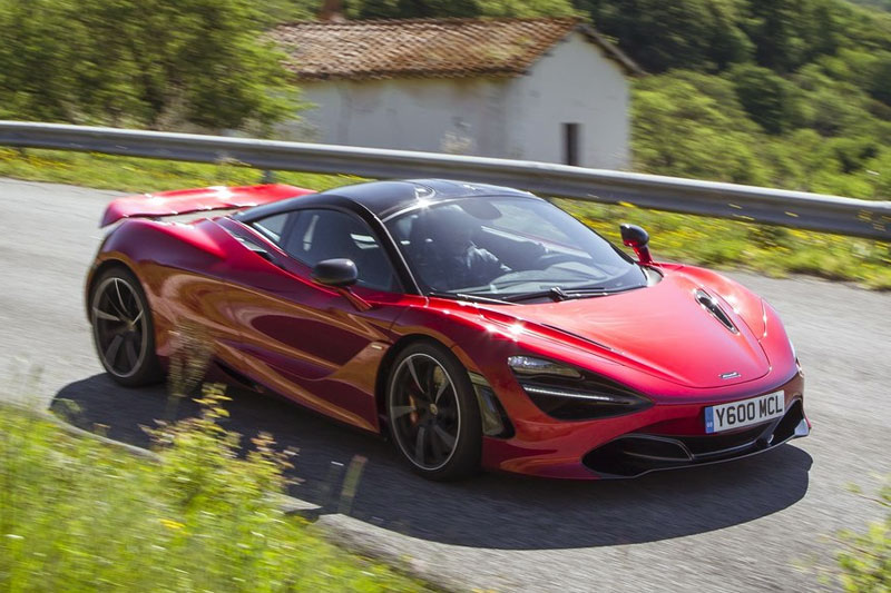 McLaren 720S European sales figures