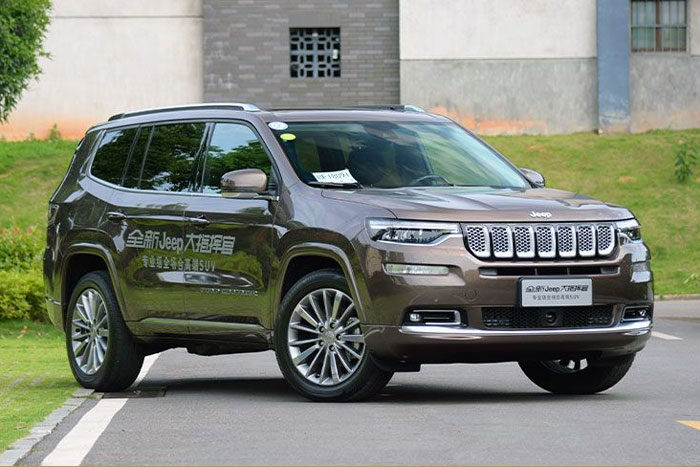 Jeep Grand Commander China Auto Sales Figures