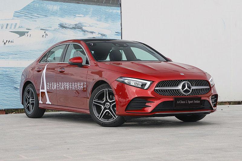 Auto-sales-statistics-China-Mercedes_Benz_A_Class_L-sedan