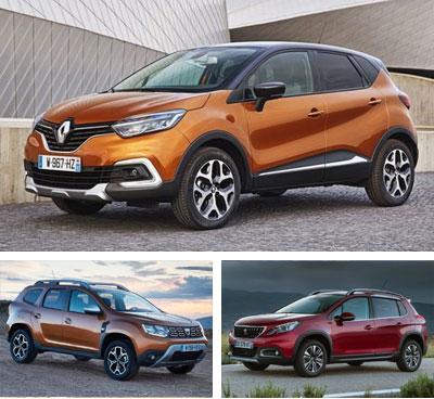Small_crossover-segment-European-sales-2018-Renault_Captur-Dacia_Duster-Peugeot_2008