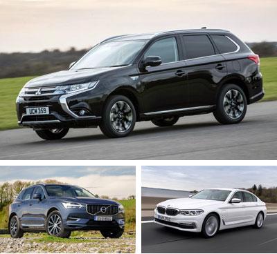 PHEV-segment-European-sales-2018_Mitsubishi_Outlander-Volvo_XC60-BMW_530e