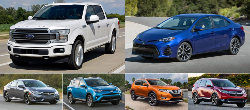 World-best-selling-cars-2018-Ford_F_Series-Toyota_Corolla-Honda_Civic-Toyota_RAV4-Nissan_Rogue-X_Trail-Honda_CRV