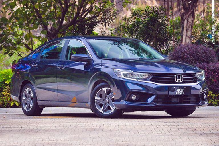 Honda Envix China auto sales figures