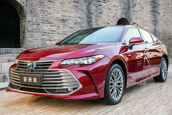 Auto-sales-statistics-China-Toyota_Avalon-sedan