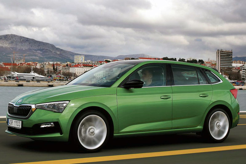 Skoda Scala European sales figures