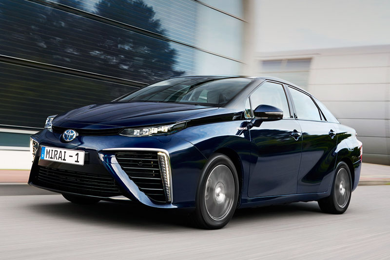Toyota Mirai European sales figures