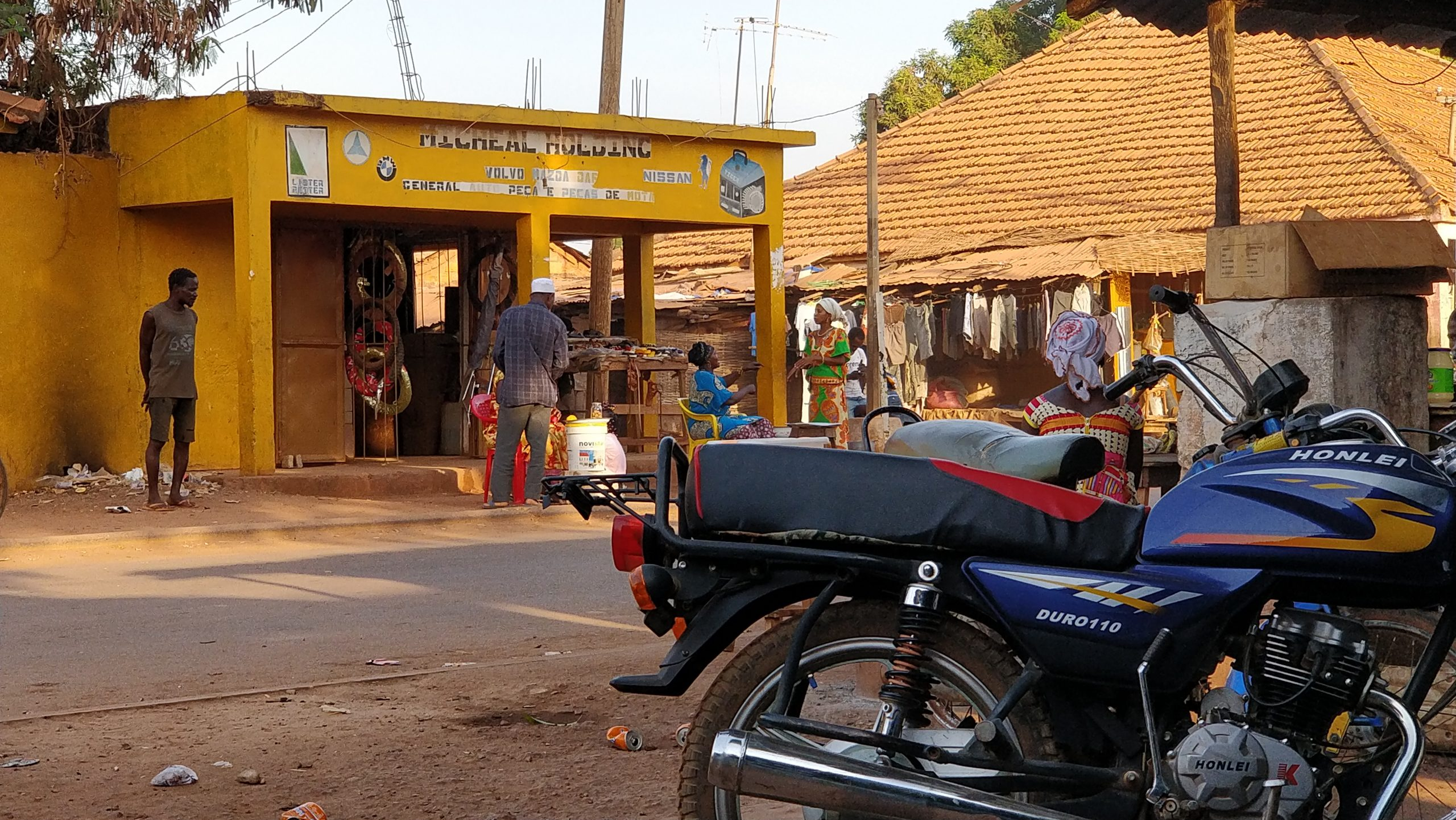 Guinea Bissau Car Sales Data
