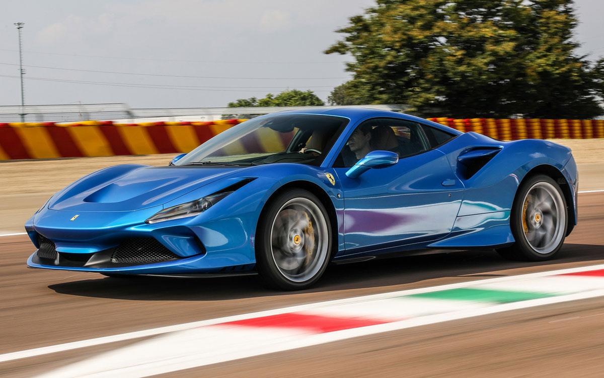 Ferrari F8 Tributo European Sales Figures