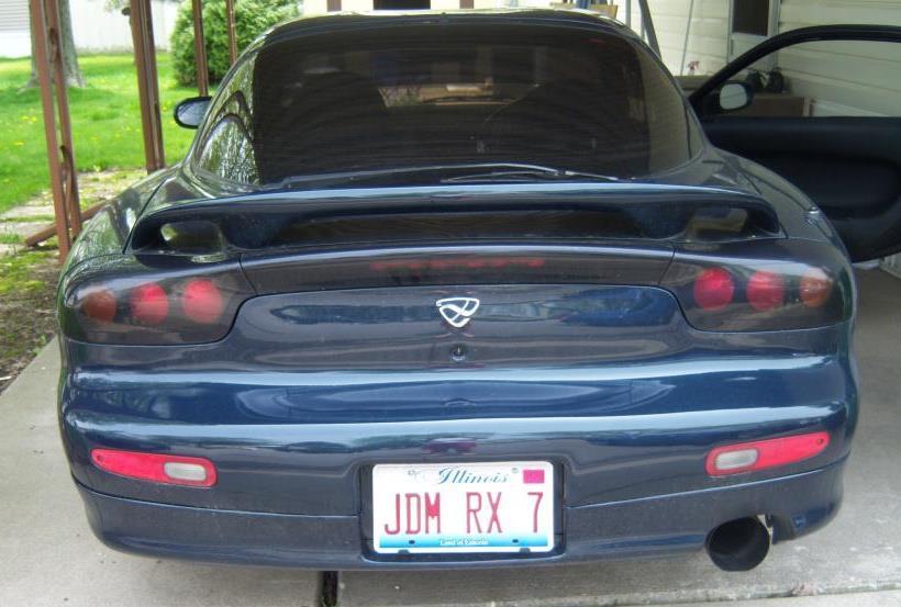 JDM RX7 Vanity Plate