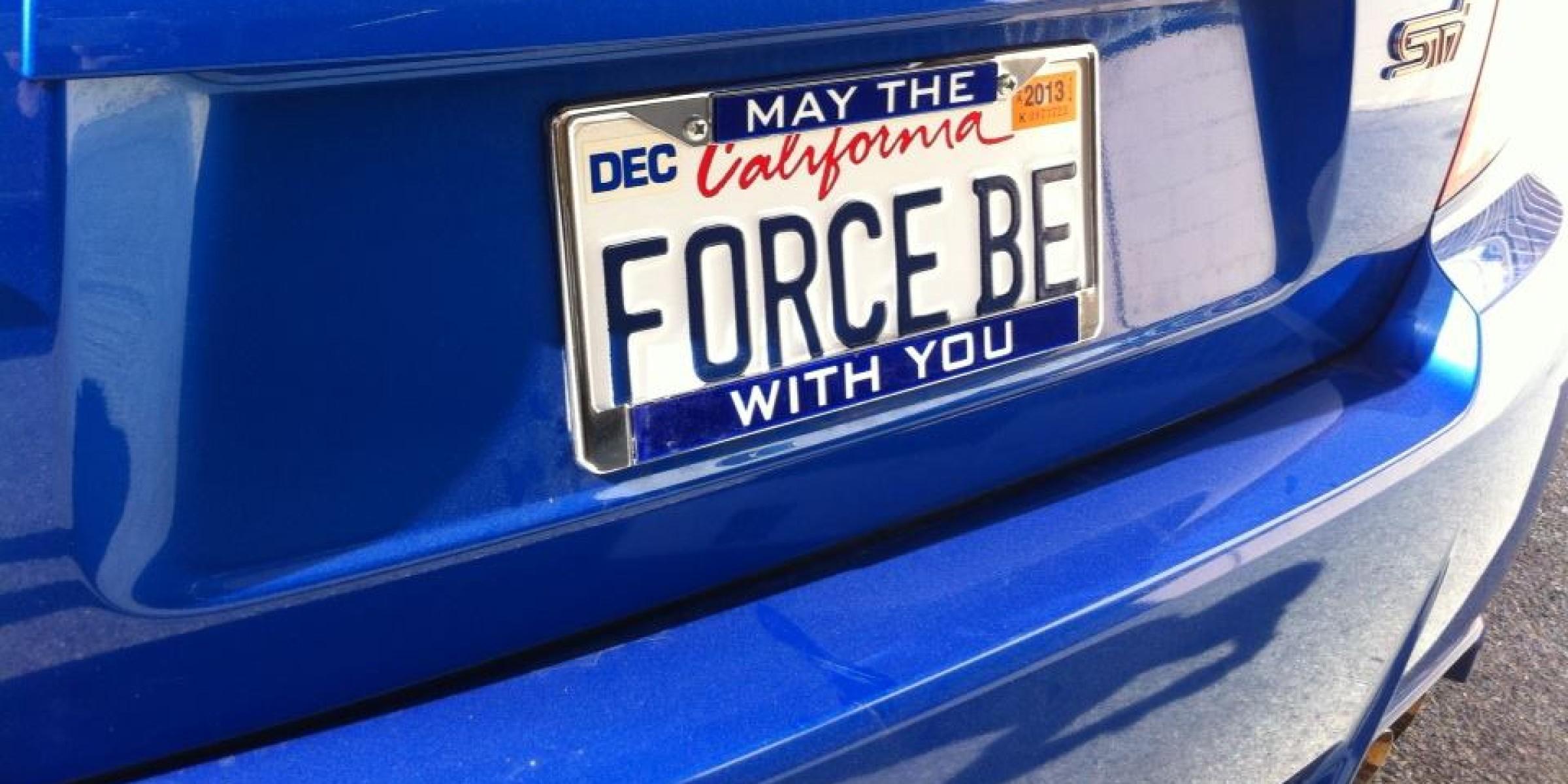 Star Wars Custom Plate